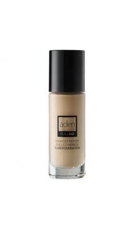 Тональный крем Aden High Definition Fluid Foundation 02 Ivory