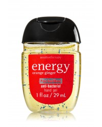 Антибактериальный гель для рук Bath and Body Works Anti-Bacterial Hand Gel Energy (Orange Ginger)