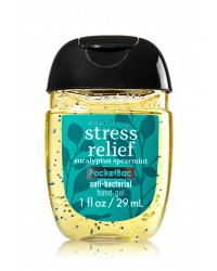 Антибактериальный гель для рук Bath and Body Works Anti-Bacterial Hand Gel Stress Relief (Eucalyptus Spearmint)