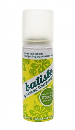 Сухой шампунь Batiste Dry Shampoo Tropical - Coconut & Exotic 50ml
