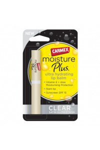 Бальзам Carmex Moisture Plus Lip Balm Stick Clear Satin Gloss Finish 2g