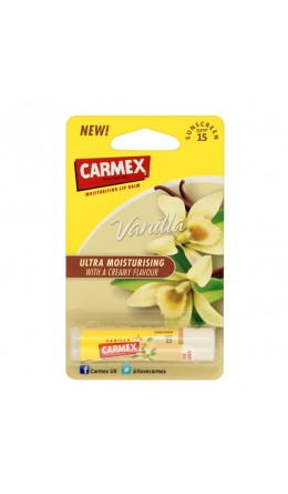 Бальзам для губ Carmex Lip Balm Stick Sunscreen SPF 15 Vanilla 4.25g