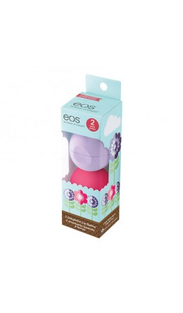 EOS Smooth Lip Balm 2-Pack Sphere (fresh watermelon & passion fruit)