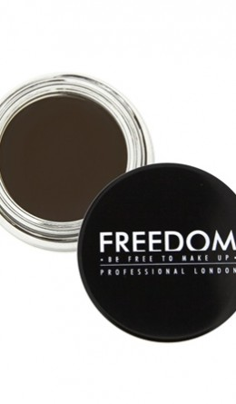 Косметика - Помада для бровей Pro Brow Pomade Ebony Freedom Makeup