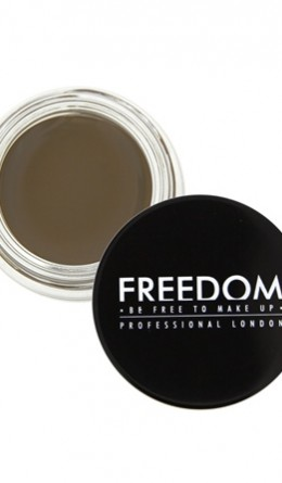 Косметика - Помада для бровей Pro Brow Pomade Medium Brown Freedom Makeup