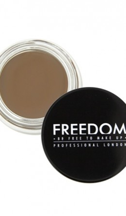 Косметика - Помада для бровей Pro Brow Pomade Soft Brown Freedom Makeup