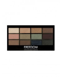 Палетка теней Freedom Makeup Pro 12 Romance and Jewels