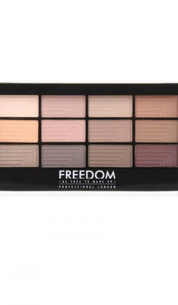 Палетка теней Freedom Makeup Pro 12 Secret Rose