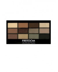 Палетка теней Freedom Makeup Pro 12 Stunning Smokes
