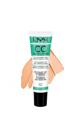 Корректирующий крем  GREEN - MEDIUM / DEEP COLOR CORRECTING CREAM NYX