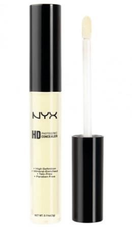 Жидкий консилер YELLOW CONCEALER WAND NYX
