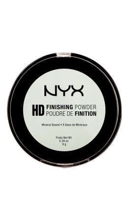Фиксирующая пудра MINT GREEN HIGH DEFINITION FINISHING POWDER NYX