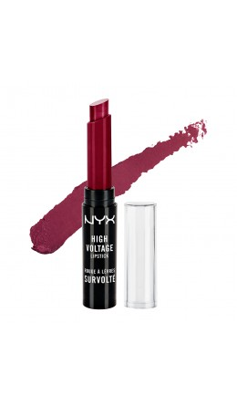Стойкая помада WINE & DINE HIGH VOLTAGE LIPSTICK NYX