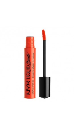 НОВИНКИ - Жидкая помада Orange County Liquid Suede Cream Lipstick NYX