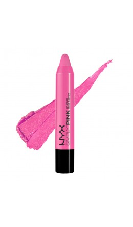 Карандаш-помада FRENCH KISS SIMPLY PINK LIP CREAM NYX
