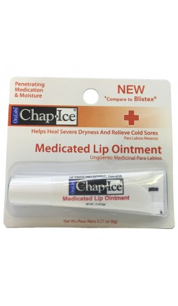 Бальзам для губ OraLabs Chap Ice Medicated Lip Ointment 6 g