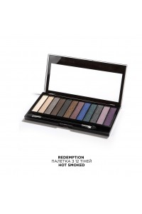Палетка теней Hot Smoked Makeup Revolution
