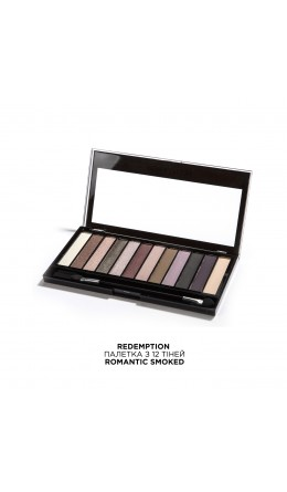 Палетка теней Romantic Smoked Makeup Revolution