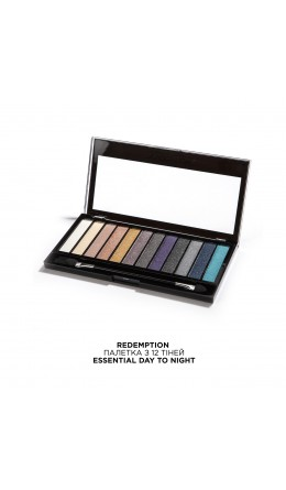Палетка теней Essential Day to Night Makeup Revolution
