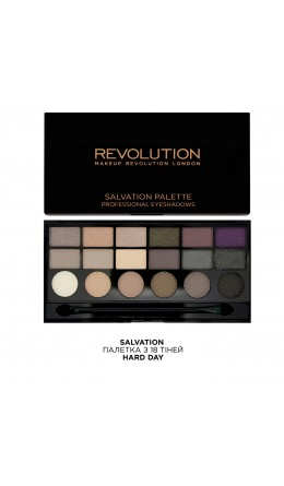 Палетка теней Salvation Hard Day Makeup Revolution