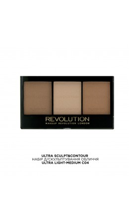 Набор для конуринга Ultra Sculpt  Light-Medium Makeup Revolution