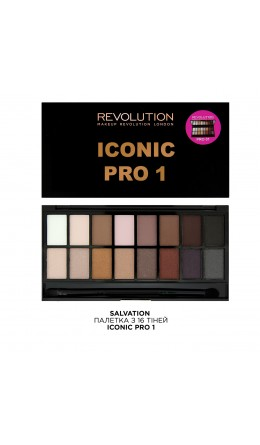 Палетка теней Iconic Pro 1 Makeup Revolution