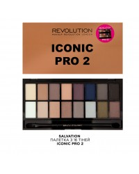 Палетка теней Iconic Pro 2 Makeup Revolution