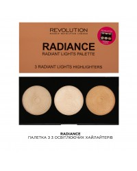 Хайлайтеры Radiance Makeup Revolution