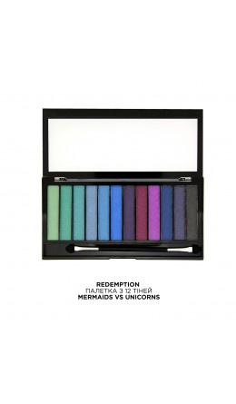 Палетка теней Mermaids vs Unicorns Makeup Revolution