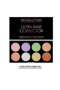 Цветные корректоры Ultra Base Corrector Makeup Revolution