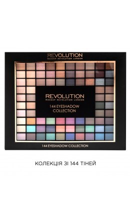 Палетка теней 144 Eyeshadow Collection Makeup Revolution