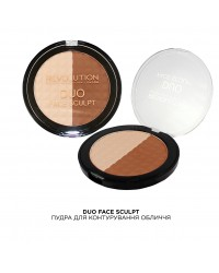 Пудра для контурирования лица Duo Face Sculpt Makeup Revolution