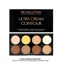 Контур-палетка кремовая Ultra Cream Contour Makeup Revolution