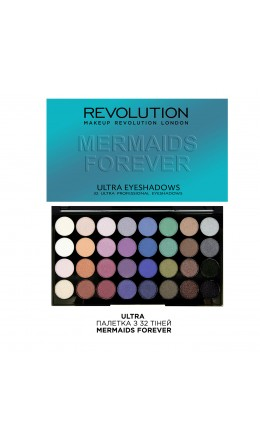 Палетка теней Mermaids Forever Makeup Revolution