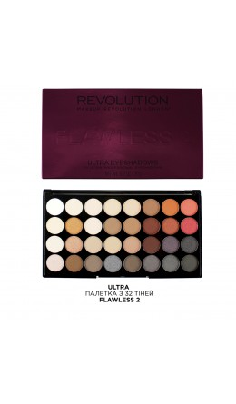 Палетка теней Flawless 2 Makeup Revolution
