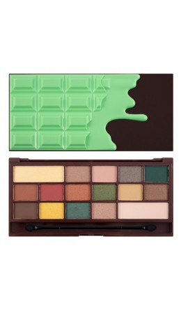 Палетка теней Makeup Revolution I Heart Revolution Mint Chocolate