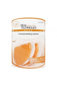 Спонжи Real Techniques 4 Miracle Blotting Cushions