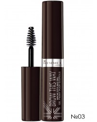 Гель для бровей Brow This Way 03 Rimmel