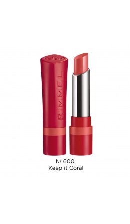 Матовая помада The Only 1 Matte 600 Keep it Coral Rimmel
