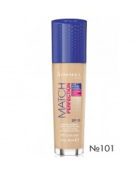 Тональный крем Rimmel Match & Perfect Foundation №101