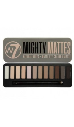 Палетка теней W7 Mighty Mattes